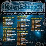 Burg Herzberg Festival 2017 LineUp Höllenschuppen